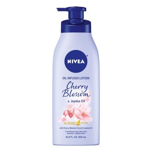 NIVEA Cherry Blossom and Jojoba Oil Infused Body Lotion - 16.9 fl oz - image 1 of 3
