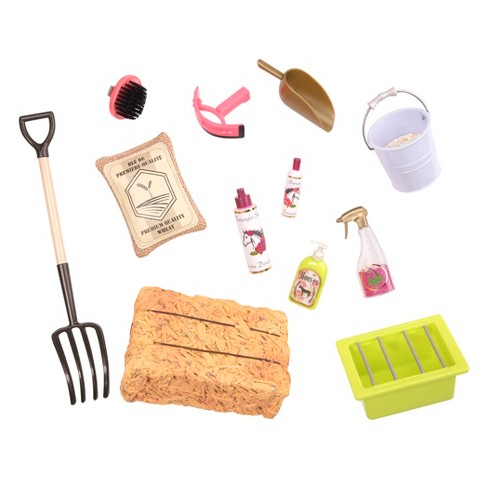 Our Generation Hay and Neigh Horse Care Accessory Set - image 1 of 3