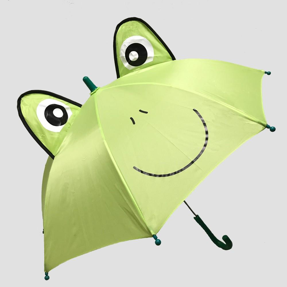 Toddler Boys' Frog Stick Umbrella - Cat & Jack Green