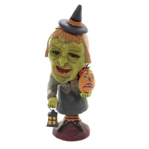 "Jorge De Rojas 10.5"" Witchy Woman Glow Halloween  -  Decorative Figurines - image 1 of 4"