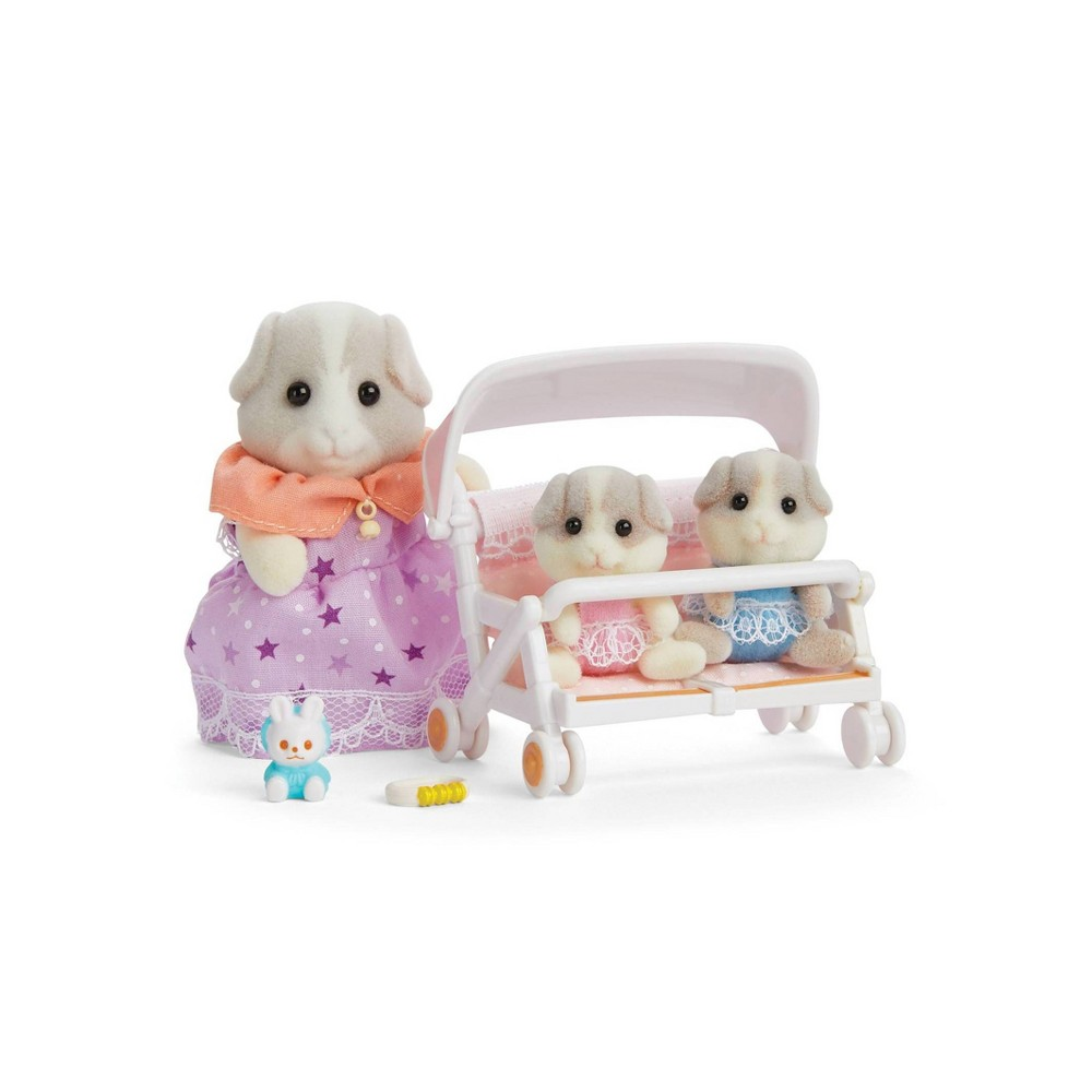 Calico Critters Patty Paden S Double Stroller