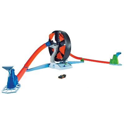 Hot Wheels GJM77 Action Spinwheel Challenge Launcher Track Playset Toy with Vehicle for Kids Ages 5 and Up