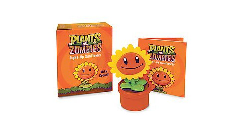 Plants Vs. Zombies Light-up Sunflower : With Sound! (Paperback) - image 1 of 1