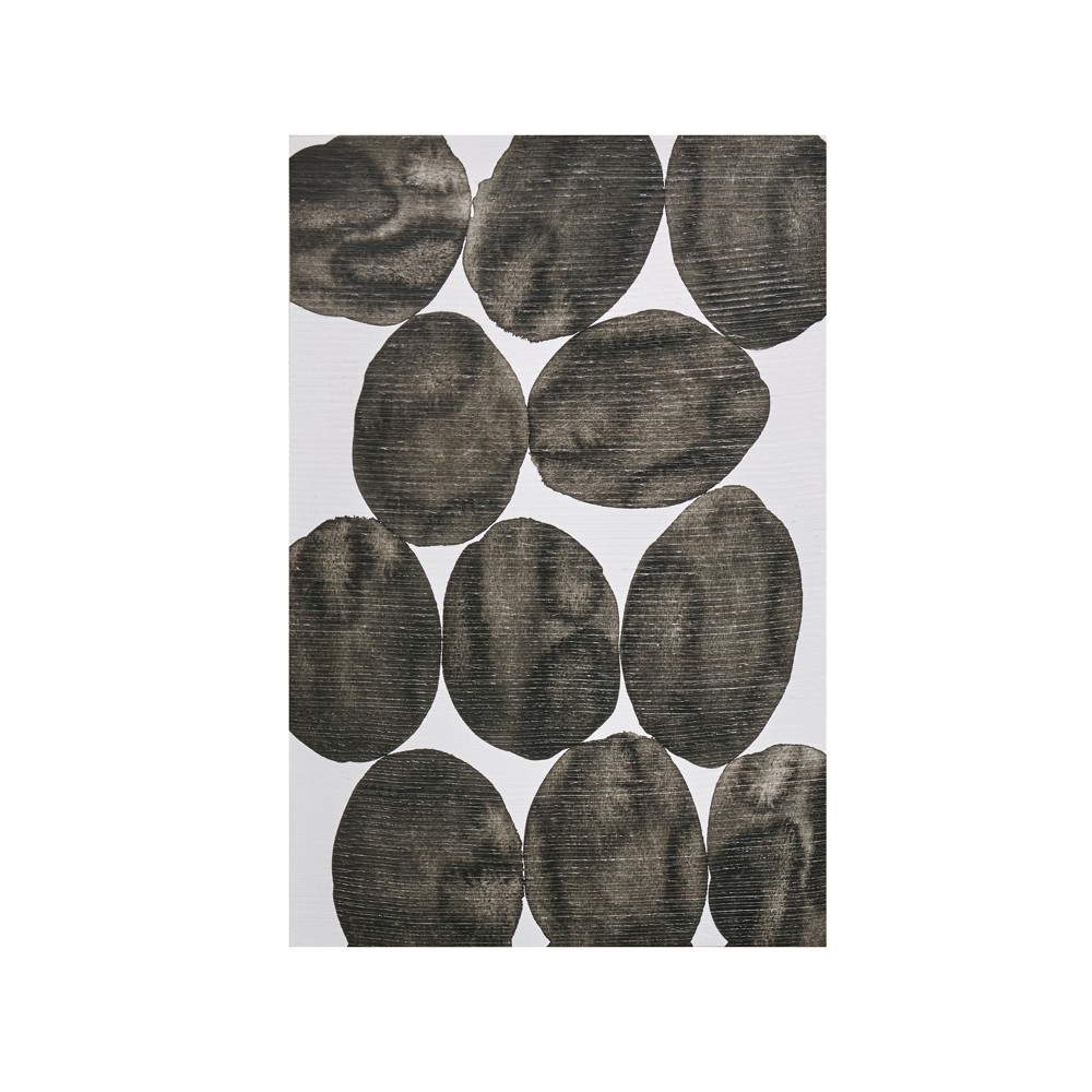 Painted Puzzle Gel Coat Printed Canvas Gray 36