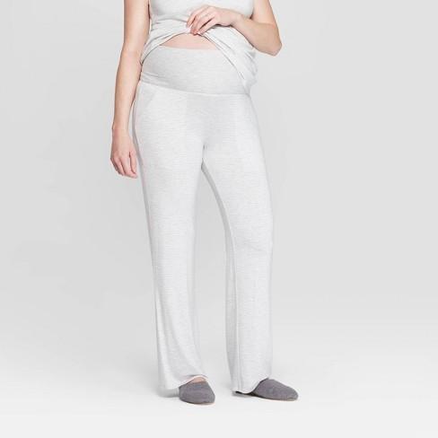 eb2b26fa6084e Women s Striped Beautifully Soft Postpartum Pajama Pants - Stars Above™ Gray