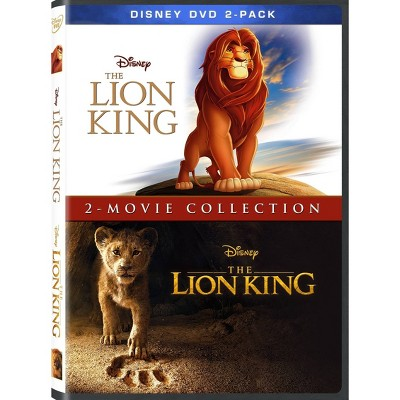 Lion King 2019 + Animated: 2-Movie Collection (DVD)