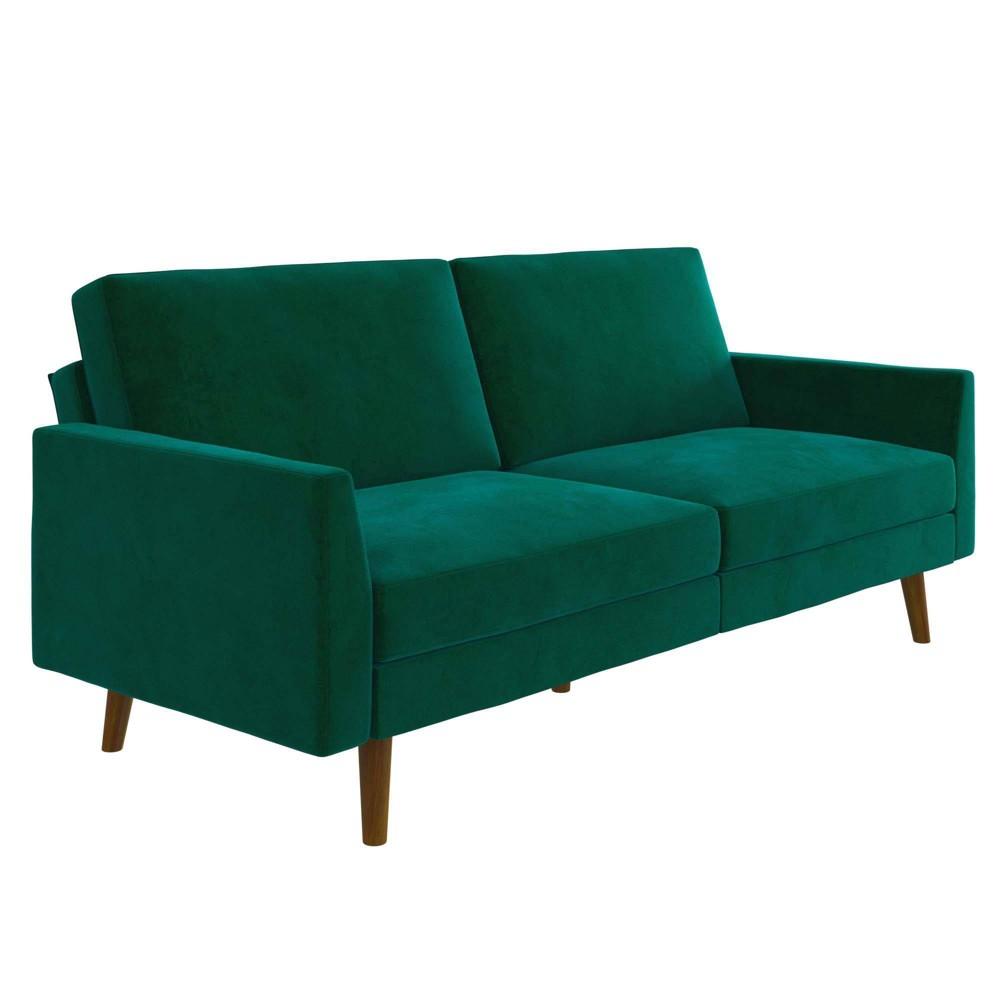 Jayce Coil Futon Green - Room & Joy