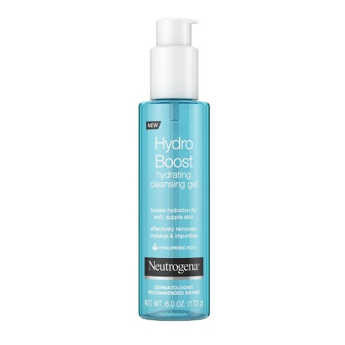 Neutrogena Hydro Boost Hydrating Hyaluronic Acid Cleansing Gel - 6oz - image 1 of 4