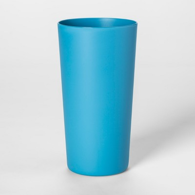 26oz Plastic Tall Tumbler Blue - Room Essentials™