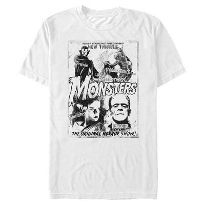 Men's Universal Monsters Original Monster Flicks T-Shirt