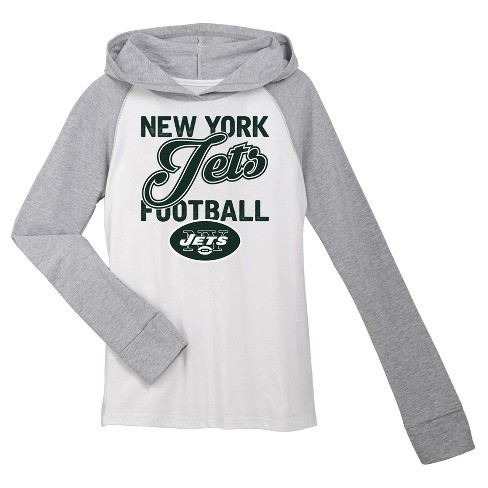 New York Jets Girls' Lightweight Hoodie Pullover - image 1 of 1