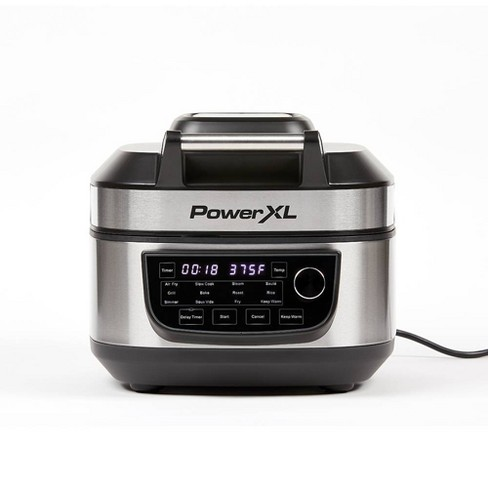 PowerXL Grill Air Fryer Combo - Silver - image 1 of 4