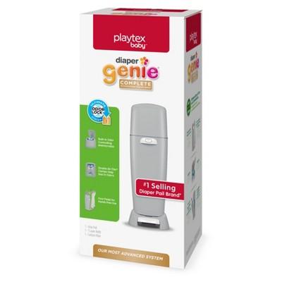 Diaper Genie Complete Assembled Diaper Pail - Gray