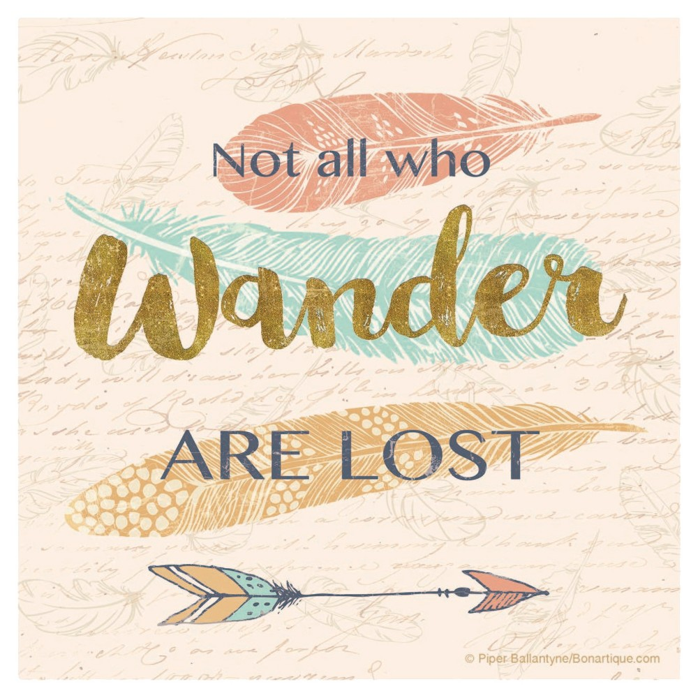 Image of Thirstystone Not All Who Wander Are Lost Coaster Set of 4
