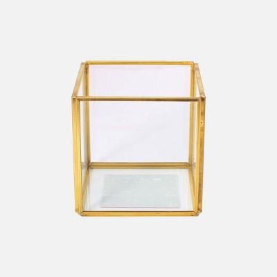 3ct Gold Framed Glass Holder - Bullseye's Playground™