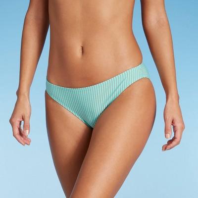 Juniors' Seersucker Bikini Bottom - Xhilaration™ Multi Stripe