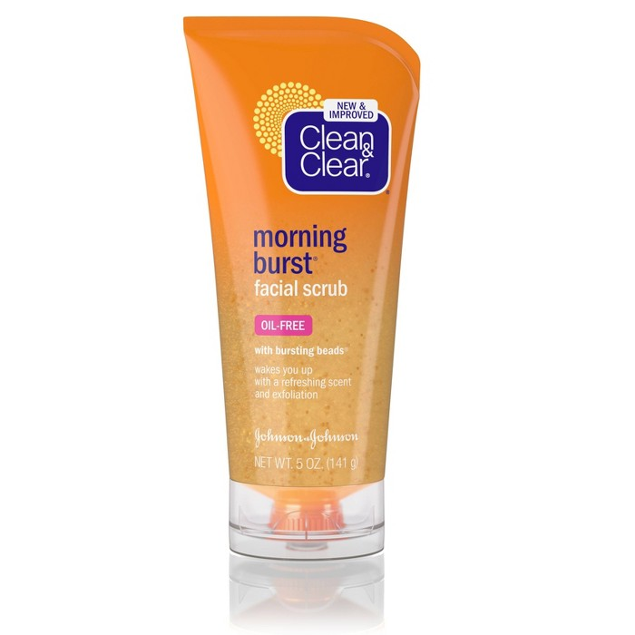 Clean & Clear Morning Burst Facial Scrub For All Skin Types - 5 fl oz - image 1 of 8