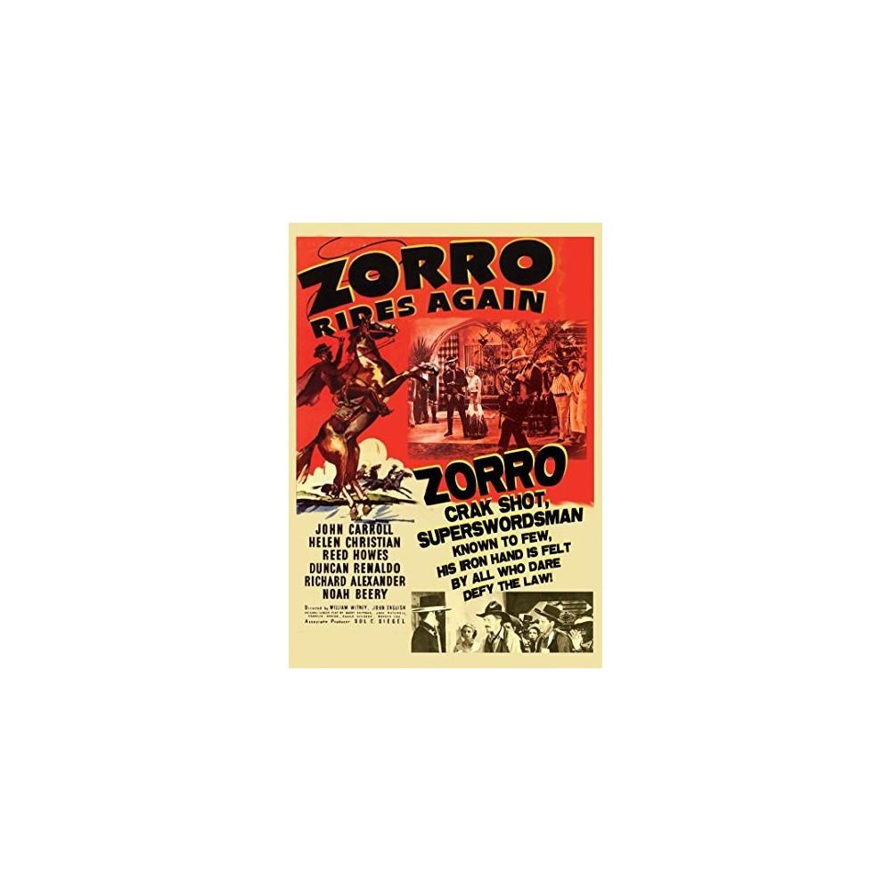 Zorro Rides Again (Dvd), Movies