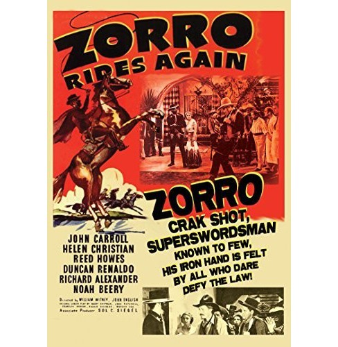 Zorro Rides Again (DVD) - image 1 of 1