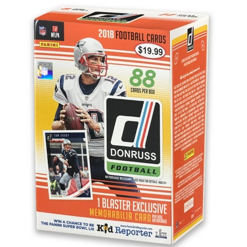 2018 NFL Donruss Football Trading Card Full Box - image 1 of 3