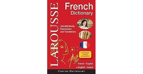 Larousse Concise French-English/English-French Dictionary (Bilingual) (Hardcover) - image 1 of 1
