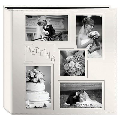 Embossed Collage Frame 5 Up Photo Wedding Album