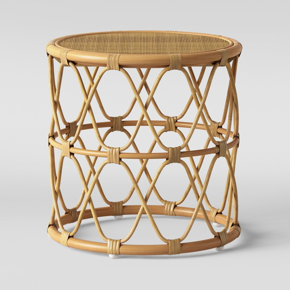 Jewel Round Side Table Natural Opalhouse 8482