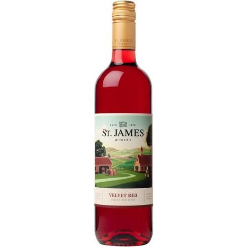 St James Velvet Red Wine -750ml Bottle - image 1 of 1