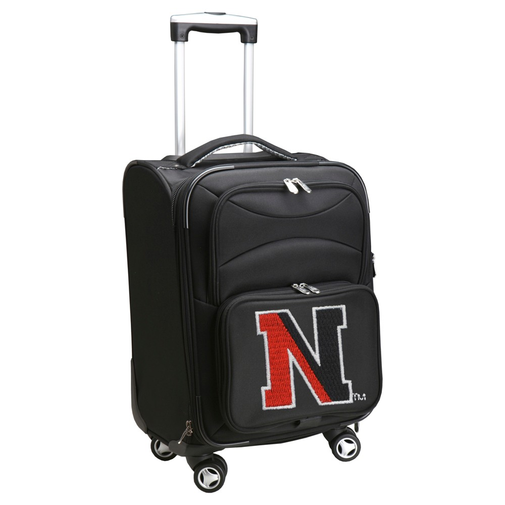 NCAA Northeastern Huskies Spinner Carry On Suitcase