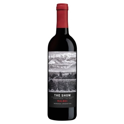 The Show Malbec Red Wine - 750ml Bottle