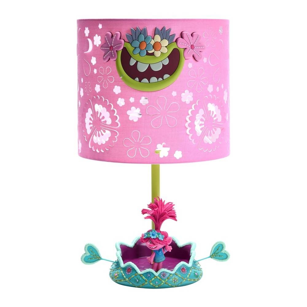 Image of Trolls World Tour Poppy Hot Air Balloon Novelty Table Lamp