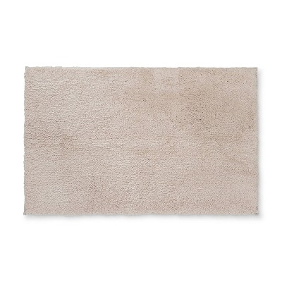 38 x24  Tufted Spa Bath Rug Tan - Fieldcrest®