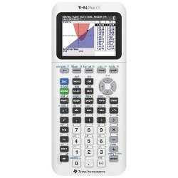 Texas Instruments 84 Plus CE Graphing Calculator - White