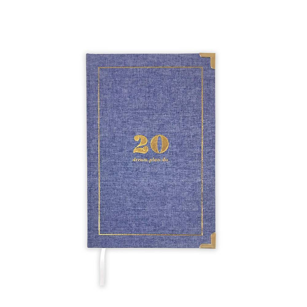 "Image of ""2020 Planner 6"""" x 9"""" Fab Chambray - lake + loft"""