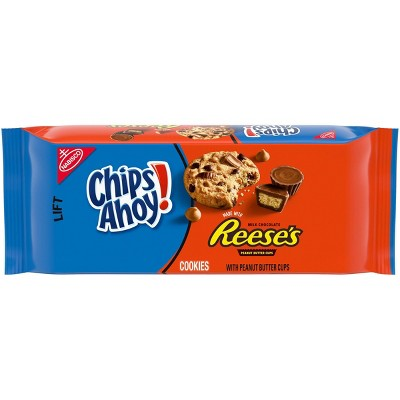 Chips Ahoy! Chocolate Chip and Peanut Butter Cup Cookies - 9.5oz