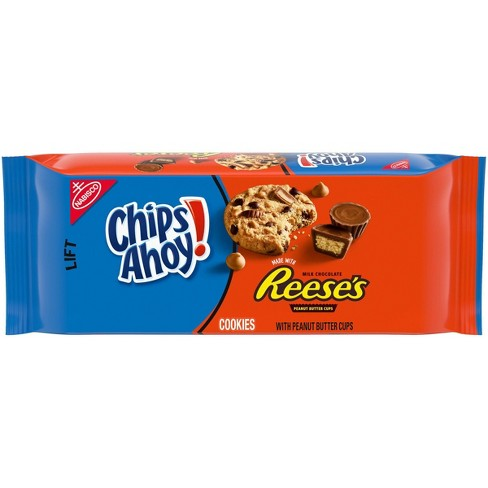 Chips Ahoy! Chocolate Chip and Peanut Butter Cup Cookies - 9.5oz - image 1 of 4