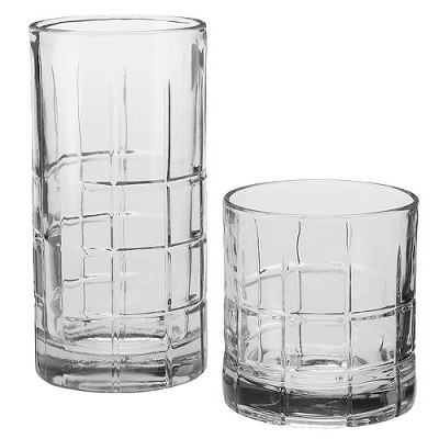 Anchor Manchester 16pc Assorted Tumblers