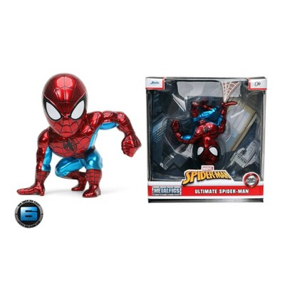 "MetalFigs Marvel Ultimate Spider-Man 6"" Collectible Die-Cast Figure"