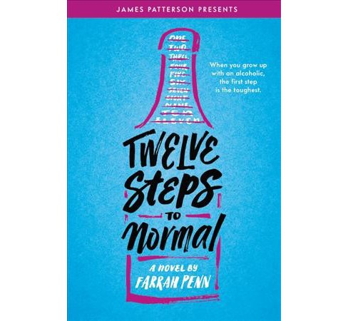 Twelve Steps to Normal -  by Farrah Penn (Hardcover) - image 1 of 1
