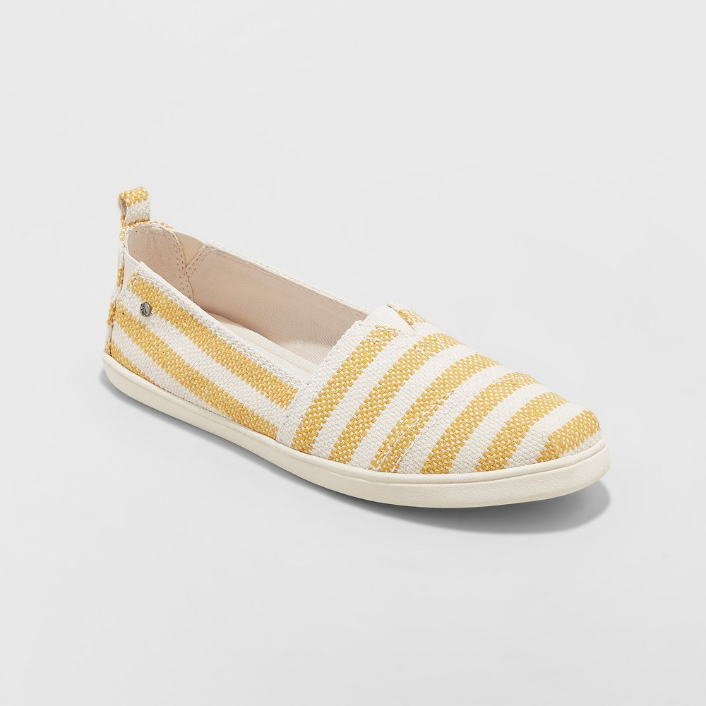 Women's Mad Love Lillianna Slip On Sneakers - Yellow 11