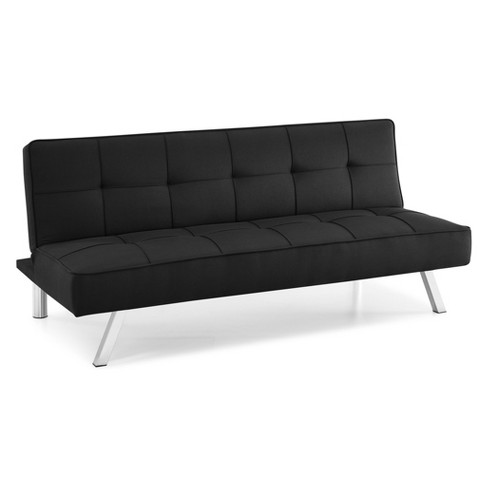 Cambridge Convertible Sofa Black - Serta - image 1 of 4