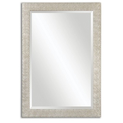 Rectangle Porcius Antiqued Decorative Wall Mirror Silver - Uttermost