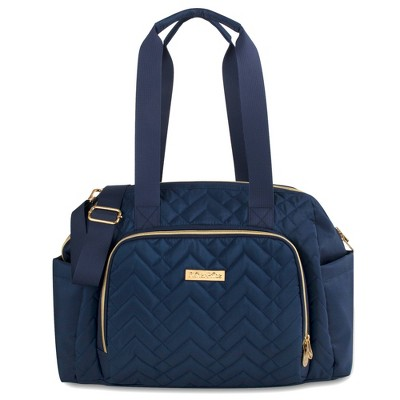 Fisher-Price Quilted Harper Frame Bag - Navy
