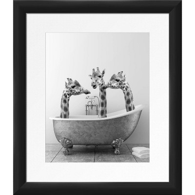 Grace Bath Framed Wall Art - PTM Images