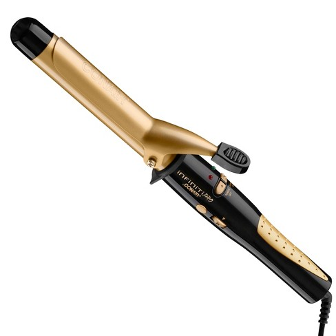 "Infiniti Pro Gold by Conair Tourmaline Ceramic Curling Iron 1"" - image 1 of 4"