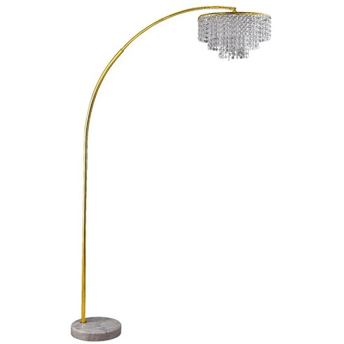 the latest a5317 e5749 Clos Glam Arch Floor Lamp Gold (Lamp Only) - Ore International