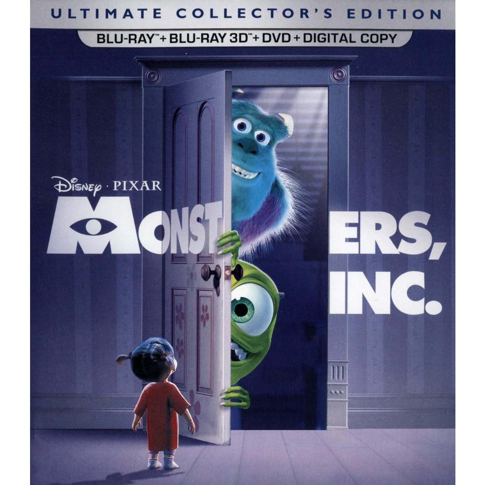 Monsters Inc 3d (Blu-ray)