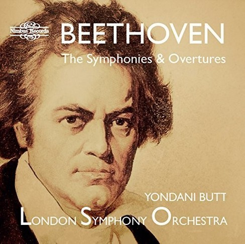 London Symphony Orch - Beethoven:Symphonies & Overtures (CD) - image 1 of 1