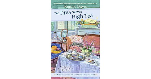 Diva Serves High Tea (Reissue) (Paperback) (Krista Davis) - image 1 of 1