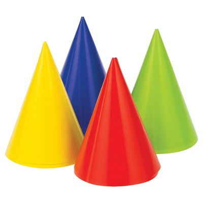8ct 1st Birthday Party Hats